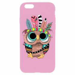 Чохол для iPhone 6 Little owl with feathers