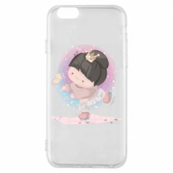 Чехол для iPhone 6/6S Little princess and butterfly