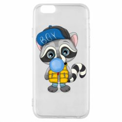 Чехол для iPhone 6/6S Little raccoon