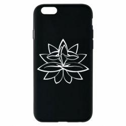 Чохол для iPhone 6 Lotus yoga