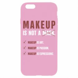 Чехол для iPhone 6/6S Make Up Is Not A Mask