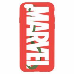 Чехол для iPhone 6/6S Marvel logo and vine