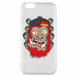 Чехол для iPhone 6/6S Monkey Style
