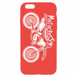 Чохол для iPhone 6/6S Motocross text and motorcycle