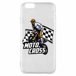 Чехол для iPhone 6/6S Motocross