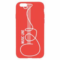 Чохол для iPhone 6 MUSIC LINE