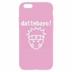 Чохол для iPhone 6 Naruto dattebayo!