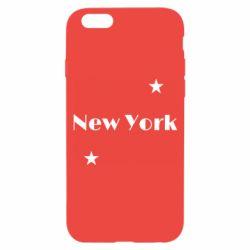 Чехол для iPhone 6/6S New York and stars