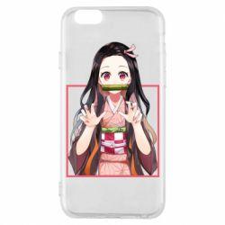 Чохол для iPhone 6/6S Nezuko