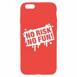 Чохол для iPhone 6 No Risk No Fun
