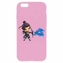 Чехол для iPhone 6/6S Overwatch Hanzo Chibi