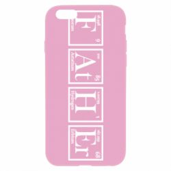 Чохол для iPhone 6 Тато - Таблиця Менделєєва