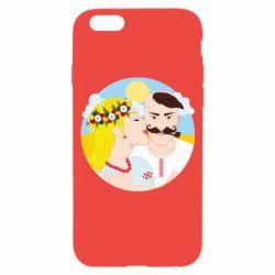 Чохол для iPhone 6 Пара козак і козачка.