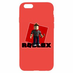 Чехол для iPhone 6/6S Roblox Builderman