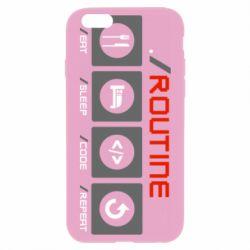 Чохол для iPhone 6 Routine code