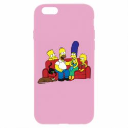Чехол для iPhone 6/6S Simpsons At Home