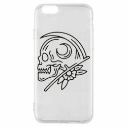 Чохол для iPhone 6 Skull with scythe