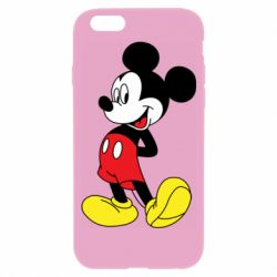 Чехол для iPhone 6/6S Smiling Mickey