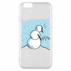 Чохол для iPhone 6 Snowman. It's Cold!