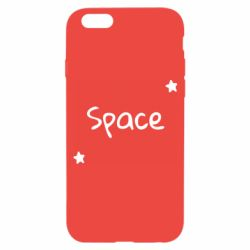 Чохол для iPhone 6 Space: Letters and Stars Print