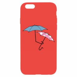 Чехол для iPhone 6/6S Umbrella love Color