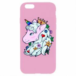 Чохол для iPhone 6 Unicorn Princess