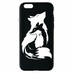 Чехол для iPhone 6/6S Wolf And Fox
