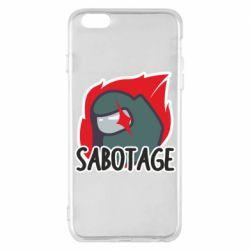 Чохол для iPhone 6 Plus/6S Plus Among Us Sabotage
