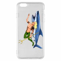 Чехол для iPhone 6 Plus/6S Plus Aquaman with a shark