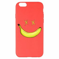 Чехол для iPhone 6 Plus/6S Plus Banana smile