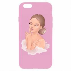 Чехол для iPhone 6 Plus/6S Plus Beautiful art girl