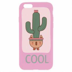 Чехол для iPhone 6 Plus/6S Plus Cactus art