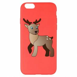 Чехол для iPhone 6 Plus/6S Plus Cartoon deer