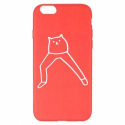 Чохол для iPhone 6 Plus/6S Plus Cat in pants