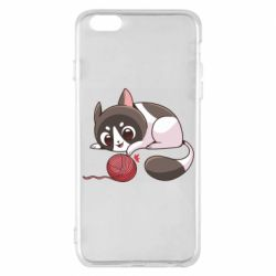 Чохол для iPhone 6 Plus/6S Plus Cat with a ball