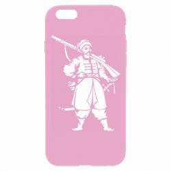 Чехол для iPhone 6 Plus/6S Plus Cossack with a gun