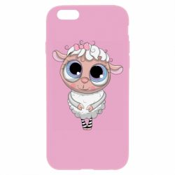 Чехол для iPhone 6 Plus/6S Plus Cute lamb with big eyes