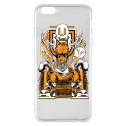 Чехол для iPhone 6 Plus/6S Plus Deer On The Throne
