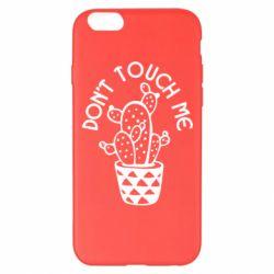 Чехол для iPhone 6 Plus/6S Plus Don't touch me cactus