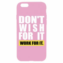 Чохол для iPhone 6 Plus/6S Plus Dont wish