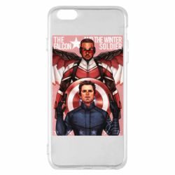 Чохол для iPhone 6 Plus/6S Plus Falcon and the Winter Soldier Art