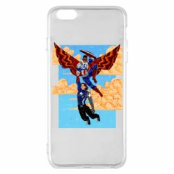 Чохол для iPhone 6 Plus/6S Plus Falcon holds Bucky