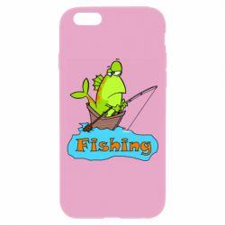Чехол для iPhone 6 Plus/6S Plus Fish Fishing