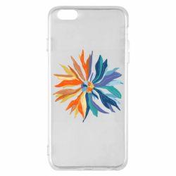 Чохол для iPhone 6 Plus/6S Plus Flower coat of arms of Ukraine