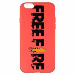 Чехол для iPhone 6 Plus/6S Plus Free Fire spray