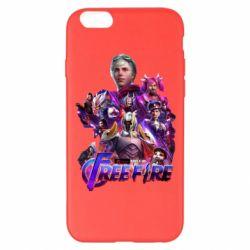 Чехол для iPhone 6 Plus/6S Plus Garena free avengers