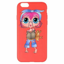 Чохол для iPhone 6 Plus/6S Plus Girl with a book