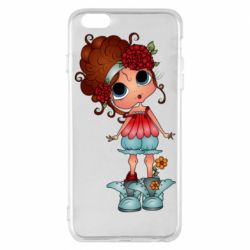 Чехол для iPhone 6 Plus/6S Plus Girl with big eyes