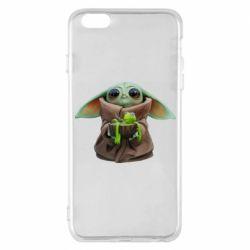 Чохол для iPhone 6 Plus/6S Plus Grogu and Kermit