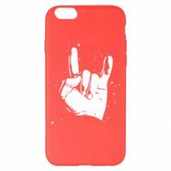 Чехол для iPhone 6 Plus/6S Plus HEAVY METAL ROCK